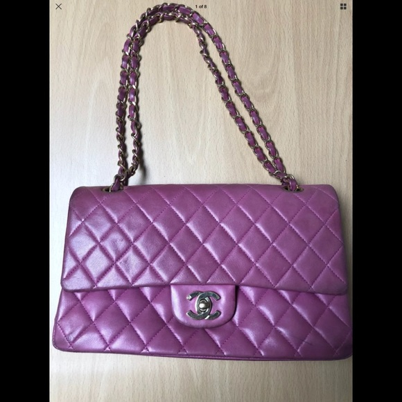 CHANEL Handbags - Authentic Deep Pink Chanel Double Flap DEAL! 86d6b98190